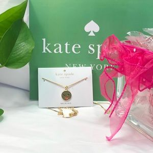NWT KATE SPADE WINKING FACE NECKLACE